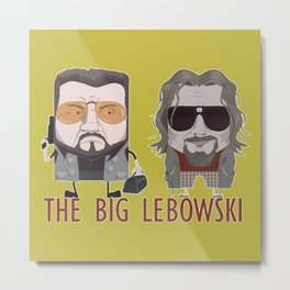 The Big Lebowski Metal Print