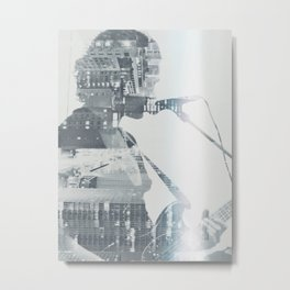 You Know Where the City Is Metal Print