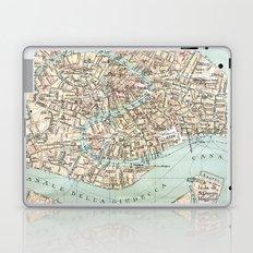 Vintage Venice Map Laptop & iPad Skin