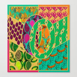 Tile 0 Canvas Print