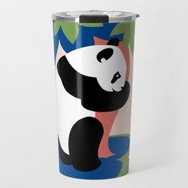 Fun retro adopt a panda Travel Mug