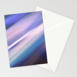 Motion Blur Series: Number Three Stationery Cards