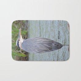 Blue Heron at Hillsboro Pond Bath Mat