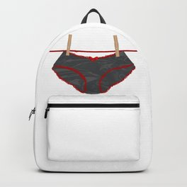Washing Line Undies Backpack