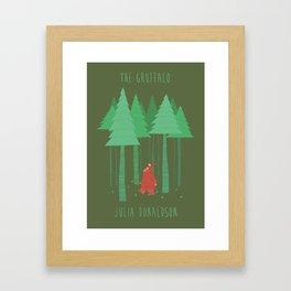 The Gruffalo fan poster Framed Art Print