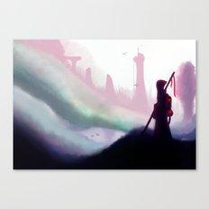 Broken Land Canvas Print