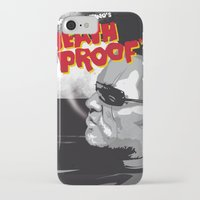 mike wrobel iPhone & iPod Cases featuring Stuntman Mike by Lorenzo Imperato