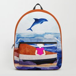 When dolphins are around 2 Backpack