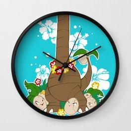 Noadkoko d'Alola Wall Clock