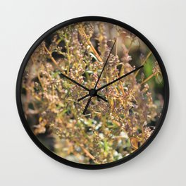 Autumn whisper Wall Clock