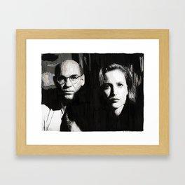 Scully & Skinner Framed Art Print