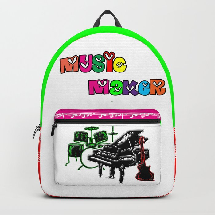 Music Maker Backpack by designsbyjudy