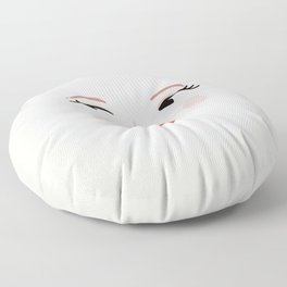 It's only a paper moon Floor Pillow