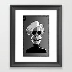 RAPTOR WARHOL Framed Art Print