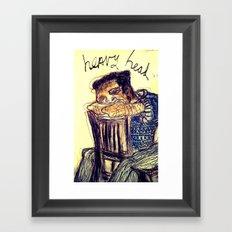 Heavy Head Framed Art Print