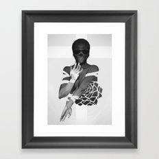 Undead Blossom Framed Art Print