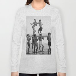 Vintage Beach Party 1 Long Sleeve T-shirt