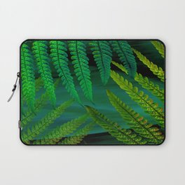 Forest Fern Green Laptop Sleeve