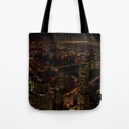 Bridges Of New York Tote Bag