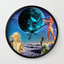 Black Lagoon  Wall Clock