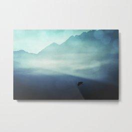 Vanishing Mountains Metal Print