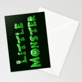 Little Monster (dark bg) Stationery Cards