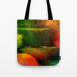 Multicolored abstract 2016 / 003 Tote Bag