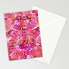 Fall Leaves (Pink) Stationery Cards
