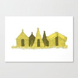 Uros Housing Canvas Print