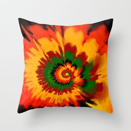 Boho Chic 3 Throw Pillow
