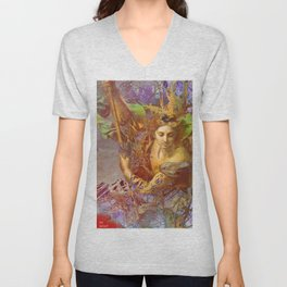 St Michael Unisex V-Neck