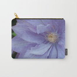 Mauve Clematis by Teresa Thompson Carry-All Pouch