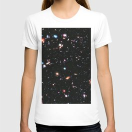 eXtreme Deep Field, Galaxy Background, Universe Large Print, Space Wall Art Decor, Deep Space Poster T-shirt