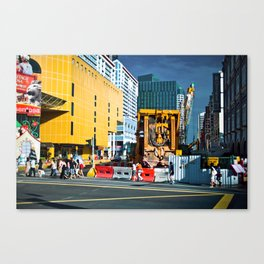 Street Scene in Singapore Canvas Print
