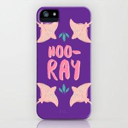 Hoo-RAY! iPhone Case