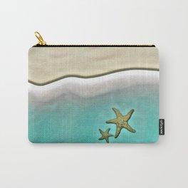 SANDY BEACH & STARFISH Carry-All Pouch