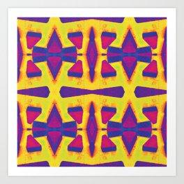 Breeze blocker Art Print