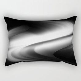 DREAM PATH (Black & Grays) Rectangular Pillow