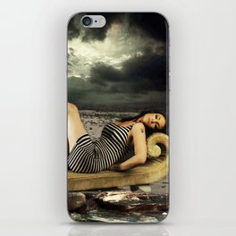 HANGIN AT THE BEACH FOREVER iPhone Skin