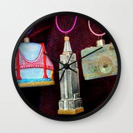 Bi-coastal Specs. Wall Clock
