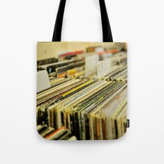 Come Put Your Records On Tote Bag