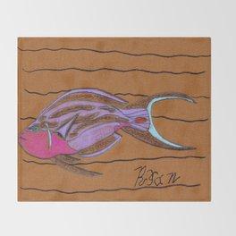 Sea Surgeon Throw Blanket