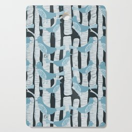 For the Birds and Birch Trees Cutting Board