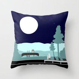 Nightowls Throw Pillow