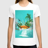 surfing T-shirts featuring Surfing by nicky2342