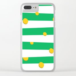 Saint Patrick's Day day money pattern Clear iPhone Case