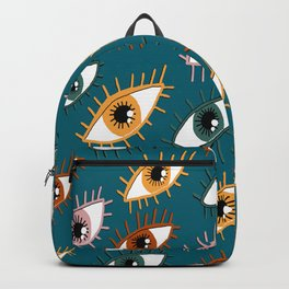 Eyes Limited Palette Pattern Backpack