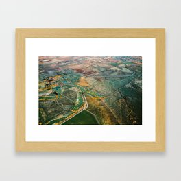 Treasure Valley Aerial Framed Art Print