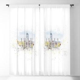 Mizzou Columns Splash Blackout Curtain