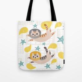 Simba the cat Tote Bag